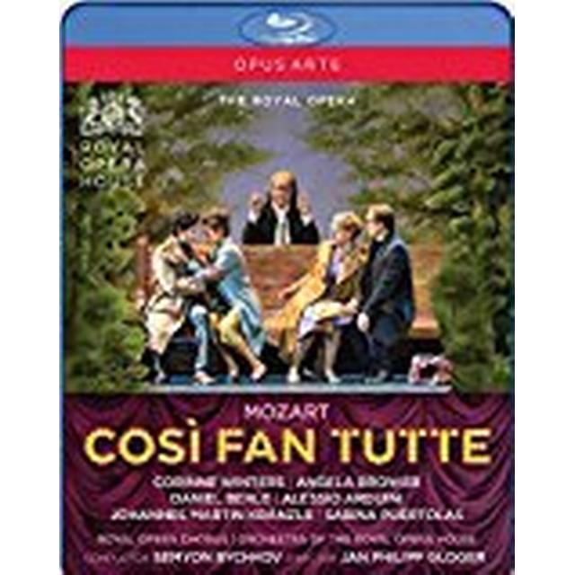 Mozart:Cosi Fan Tutte [Corinne Winters; Angela Brower; Daniel Behle; Alessio Arduini; Royal Opera House; Semyon Bychkov] [Opus Arte: OABD7237D] [Blu-ray] [Region A & B & C]